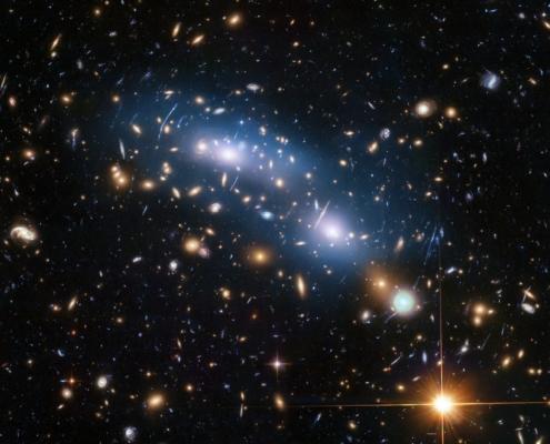 Stelle e galassie viste da Hubble